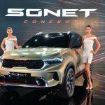 KIA Mang SUV Cỡ B Mới Sonet Concept Mẫu Đến Auto Expo 2020