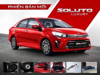 Kia ra mắt phiên bản Kia Soluto AT Luxury mới
