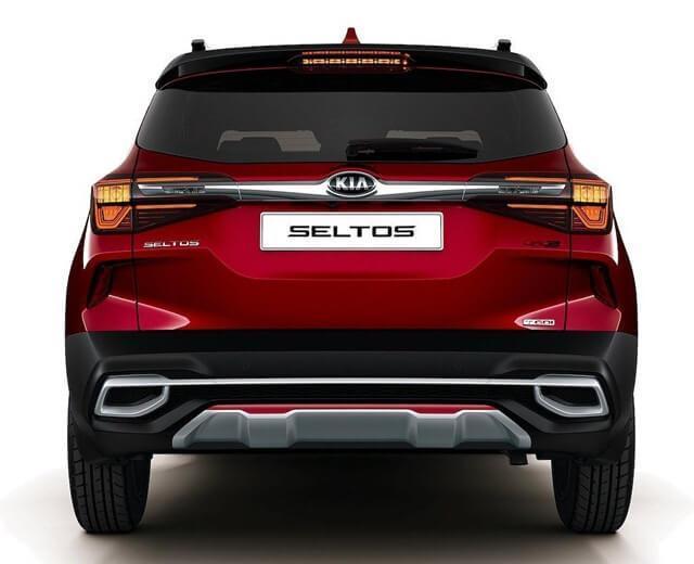 Thiết kế đuôi xe Kia Seltos
