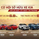 Cơ hội sở hữu xe KIA với lãi suất tốt nhất thị trường, trả trước chỉ từ 60 triệu đồng *