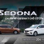 Kia Sedona: Chuẩn xe gia đình 7 chỗ cỡ lớn, trả trước chỉ từ 204 triệu đồng